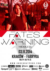 Fates Warning plakat