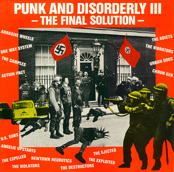 skladanka - punk and disorderly III lp (1)