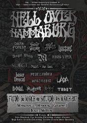 Hell Over Hammaburg 2016 - plakat
